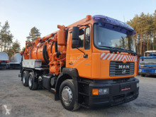 MAN FE - 360A 6x4 WUKO LEISTIKOW RECYTLING DO CZYSZCZENIA KANAŁÓW, KAN camião limpa fossas usado