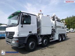 Mercedes sewer cleaner truck Actros 3241