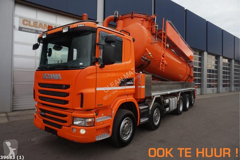 Voir les photos Engin de voirie Scania G 480