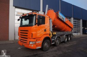 Scania R 480 used sewer cleaner truck