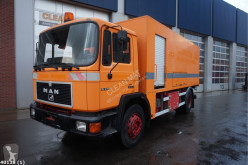 Camion hydrocureur MAN 18.270 High pressure unit