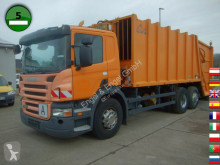 Maquinaria vial Scania P280 B6X2 Haller M22X2C Schüttung Terberg TCA-DE camión volquete para residuos domésticos usado