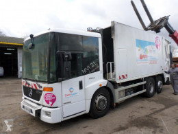 Mercedes Econic damaged waste collection truck