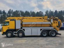 Camião limpa fossas usado Volvo FM - WUKO ADR LARSEN FlexLine 414 do zbierania odpadów płynnych