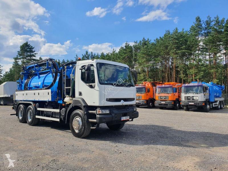 View images Renault Kerax -  6X4 WUKO KAISER MORO ST12 DO CZYSZCZENIA KANAŁÓW, KANALIZA road network trucks
