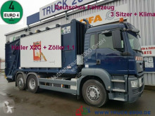 MAN waste collection truck TGS 26.320 Haller X2 + Zöller 1.1 Deutscher LKW