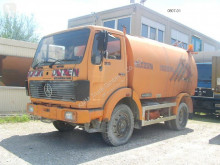 Mercedes road sweeper 1213 D Kehrmaschine