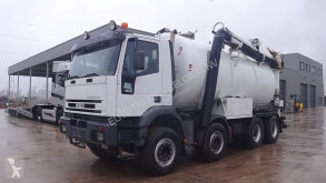Iveco Eurotrakker 340 used sewer cleaner truck