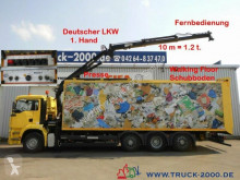 MAN TGA 32.390 Schubboden 57m³Wertstoff Müll Presse used waste collection truck