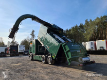 Camion benne à ordures ménagères Scania DISAB Saugbagger vacuum cleaner excavator suction powders