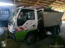 Isuzu waste collection truck