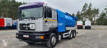 Maquinaria vial MAN 26.414 WUKO ELEPHANT 6x4 DO CZYSZCZENIA KANAŁÓW camión limpia fosas usado