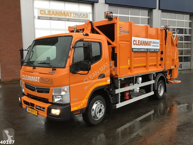 View images Fuso Canter 9C18 Geesink 7m3 road network trucks