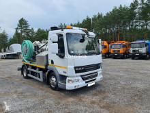 DAF sewer cleaner truck LF45 WUKO SCK