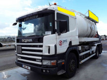 Scania sewer cleaner truck 114 380 haak/hook/bras amplirol//sewing truck double system