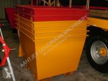 Nc Conteneur à déchets neuf camião basculante para recolha de lixo novo