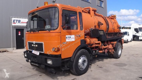 MAN sewer cleaner truck