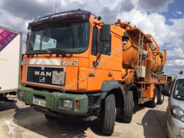 MAN sewer cleaner truck F2000 41.463