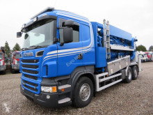 Scania sewer cleaner truck R500 6x2*4 JHL MaskoFlex 312