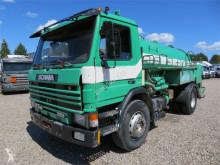 maquinaria vial camión limpia fosas Scania