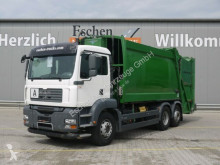 MAN TGA 26.320 6x2-4 Schörling 3 RII22,5, Lenk/Lift camião basculante para recolha de lixo usado