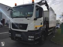 MAN 26.360 camião basculante para recolha de lixo usado