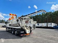 Maquinaria vial camión limpia fosas MAN TGS WUKO LARSEN FLEX LINE 311 ADR do zbierania odpadów płynn