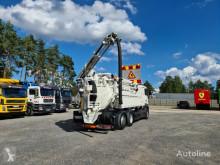 Maquinaria vial MAN TGS WUKO LARSEN FLEX LINE 311 ADR do zbierania odpadów płynnych camión limpia fosas usado