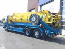 Scania P124 used sewer cleaner truck