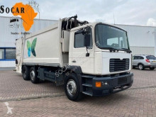 MAN 25.322 25.284 Garbage truck 19m3 used waste collection truck