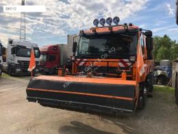 Camion spazzatrice DAF AE 75 PF Straßenreiniger / AUFBAU Schörling Optifant 70