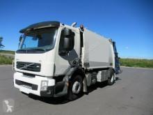Maquinaria vial camión volquete para residuos domésticos usado Volvo FE 300, NTM 13,3 cbm, Klima