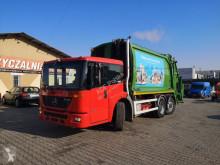 Maquinaria vial camión volquete para residuos domésticos Mercedes Econic 2633 LI śmieciarka. garbage truck