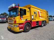 Lastbil med ske til husholdningsaffald brugt Scania P310 6x2*4 Dennis Eagle