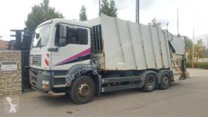 MAN Müllwagen 28.320 Klima Kamera Lenkachse camión volquete para residuos domésticos usado