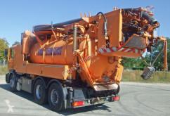 Maquinaria vial camión limpia fosas MAN 28.414 DA 22 Kanalreiniger Wiedemann und Reichha