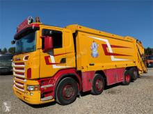 Camion benne à ordures ménagères occasion Scania R500 8x2*6 Phoenix Euro 5