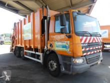 Maquinaria vial camión volquete para residuos domésticos usado DAF AG75PR5