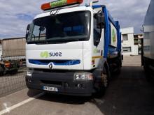 Maquinaria vial camión volquete para residuos domésticos Renault 270.19