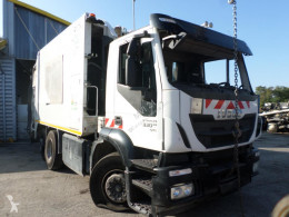 Iveco Stralis damaged waste collection truck