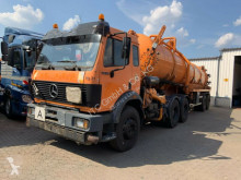 Maquinaria vial camión limpia fosas Mercedes 2635 Saugwagen 3 Achser