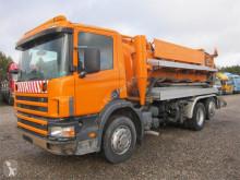 Scania 94D-220 6x2*4 Hvidtved Larsen 8000 L. camión limpia fosas usado