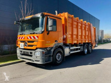 Mercedes Actros 2536 ZOELLER Müllwagen used waste collection truck