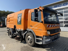 Mercedes Atego 1518 4x2 Doppeltkehr Kehrmaschine HSW 6 used road sweeper