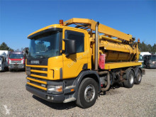 Camión limpia fosas usado Scania L 124G-360 6x2*4 Hvidtved arsen 11.000