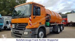 Mercedes 2532 Saugwagen Tollense,Demag Pumpe,14Tltr.Top! used sewer cleaner truck