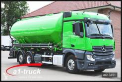 Camion citerne Mercedes Actros 2551 Heitling Silo, Retarder, Navi, Xenon