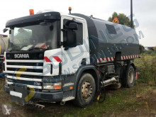 Scania 94G-230 used road sweeper