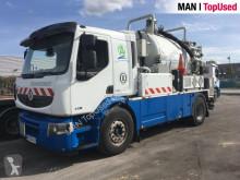 Renault sewer cleaner truck LANDER 430 HYDROCUREUR ADR
