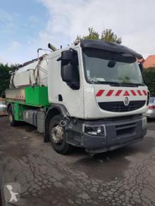 Maquinaria vial camión limpia fosas Renault Lander 410 DXI